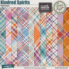 Kindred Spirits Plaid Papers