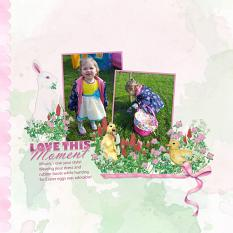 Layout using Cloverfield Collection Mini by Angela Blanchard