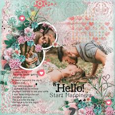 Layout using ScrapSimple Digital Layout Collection:kit