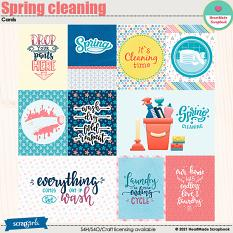 Spring cleaning - cards by HeartMade Scrapbook