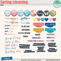 Spring cleaning - extra by HeartMade Scrapbook