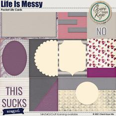Life Is Messy Pocket Life Cards