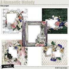 A romantic melody Easy pages