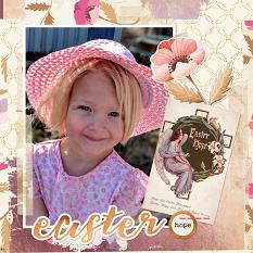 """""""Easter Hope"""" layout by Shalae Tippetts"""