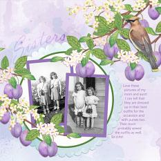Layout using Orchardist Collection Mini by Angela Blanchard