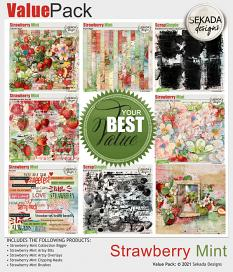 Value Pack: Strawberry Mint by Sekada Designs