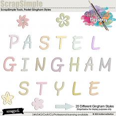 Pastel Gingham Style for Photoshop