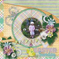 Easter Morning Layout