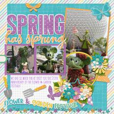 PureMagic: Magic Blooms by Connie Prince - CT Layout