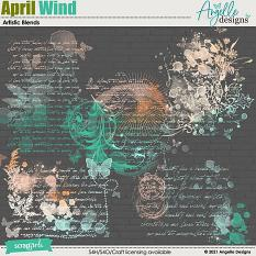 April Wind Artistic Blends by Angelle Designs