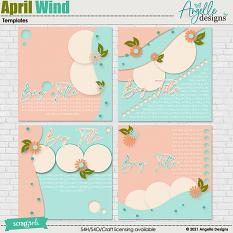 April Wind Templates by Angelle Designs
