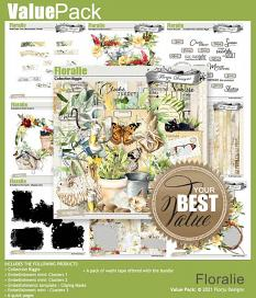 layout using floralie cluster 2 by Florju Designs