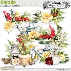 layout using floralie cluster 3 by Florju Designs