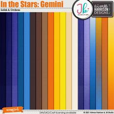 In the Stars: Gemini Solids and Ombre