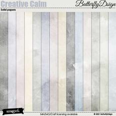 Creative Calm Solid papers
