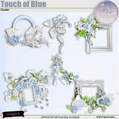 Touch of Blue Cluster