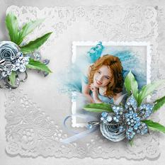 layout using Touch of Blue by BeeCreation
