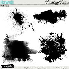 Hawaii Photomasks by ButterflyDsign