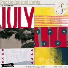 July Juornal Cards