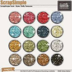 Thrifty Treasures Glitters