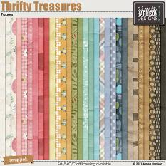 Thrifty Treasures Papers
