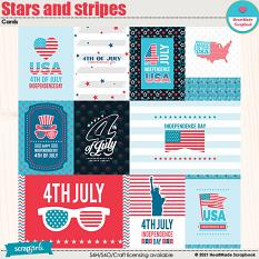Stars And Stripes - cards by HeartMade Scrapbook