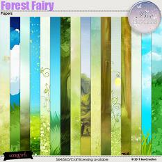 Forest Fairy Papers