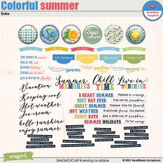 Colorful summer - extra by HeartMade Scrapbook