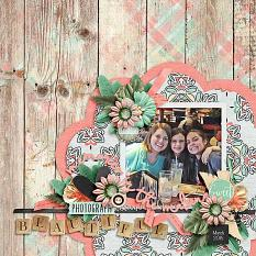 Layout by Joanna using Paper Blooms Vol. 4 by Bekah E Designs