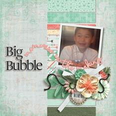 Layout by Penny using Paper Blooms Vol. 4 by Bekah E Designs