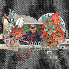 Layout by Bekah using iEngineer Collecction Biggie by Bekah E Designs