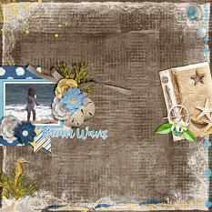 CT Layout using White Space Volume 60 12x12 Templates by Connie Prince