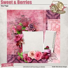 Sweet & Berries Easy Page by Silvia Romeo