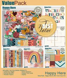 Value Pack: Happy Here