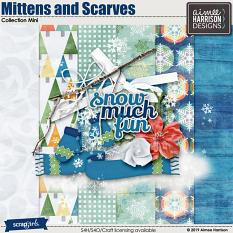 Mittens and Scarves Collection Mini