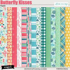Butterfly Kisses Papers by Diane Rooney