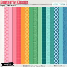 Butterfly Kisses Basic Papers by Diane Rooney