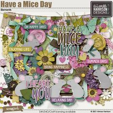 Have a Mice Day Elements