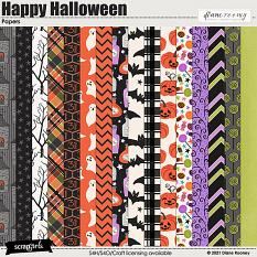 Happy Halloween Papers by Diane Rooney