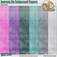 Journey On Embossed Papers by Silvia Romeo