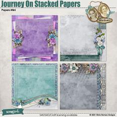Journey On Stacked Papers by Silvia Romeo