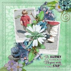 Journey On Layout by Silvia Romeo