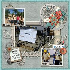 Layout by Kathryn using iEngineer Burlap Stack