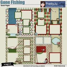 Gone Fishing Quick Pages