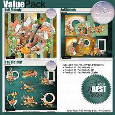 Fall Melody Value Pack