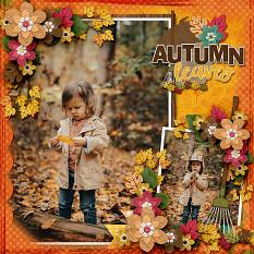 Whoo Loves Fall?  by Connie Prince & Adrienne Skelton - CT Layout