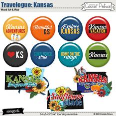 Travelogue Kansas by Connie Prince