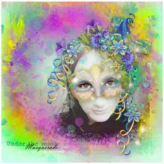 layout using Masquerade by BeeCreation