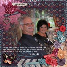 Layout by Kathryn using Memorizing You Collection Biggie