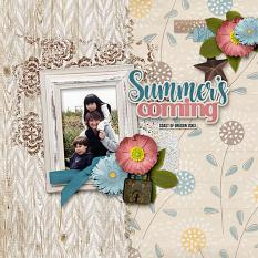 Summer's Coming Layout
